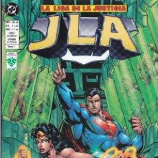 Cómics: LIGA DE LA JUSTICIA. JLA. DC COMICS. TOMOS 1 AL 4. GRUPO VID + JLA NUMERO 1 DE PLANETA DEAGOSTINI. Lote 40808545