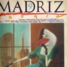 Cómics: MADRIZ Nº 9 SEPTIEMBRE OCTUBRE 1984 - AYUNTAMIENTO DE MADRID.. Lote 40829558