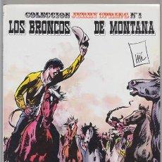 Cómics: JERRY SPRING 1 - LOS BRONCOS DE MONTANA, JIJE. EDICIONES R.O. 1982 OESTE. Lote 40855364