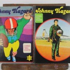 Cómics: 4118-LOTE DE 2 COMICS. JOHNNY HAZARD. EDIT. MAISAL. AÑOS 70. Lote 40886431