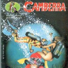 Cómics: TEBEOS-COMICS GOYO - CAMBERRA - AGENTE SECRETO - EDICIONES GS - 1987 - CASI COMPLETA - DIFICIL *AA99. Lote 40887457