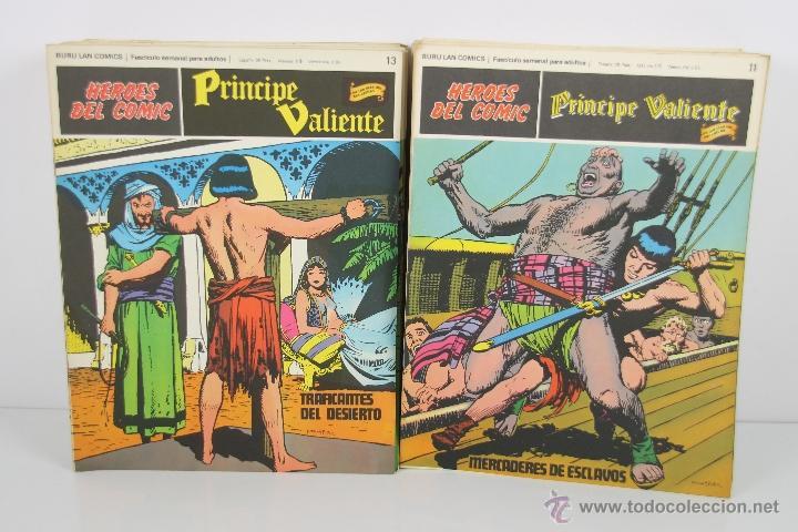 4138- EL PRINCIPE VALIENTE. HEROES DEL COMIC. EDIT. BURU LAN. PRIMERA AÑOS 70. (Tebeos y Comics - Buru-Lan - Principe Valiente)