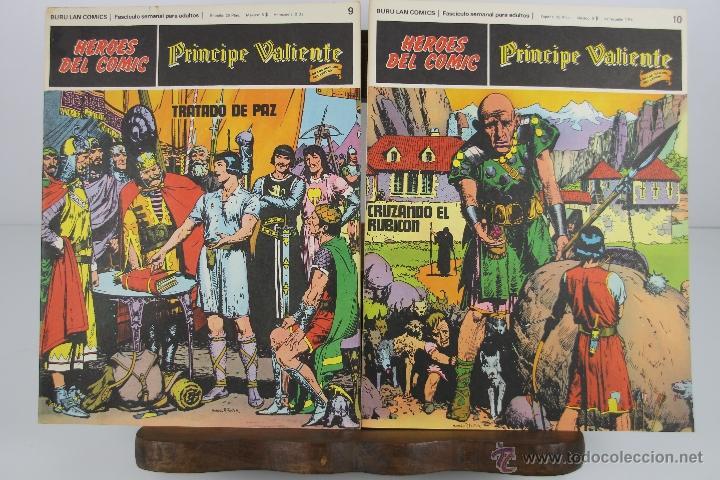 Cómics: 4138- EL PRINCIPE VALIENTE. HEROES DEL COMIC. EDIT. BURU LAN. PRIMERA AÑOS 70. - Foto 2 - 40902003
