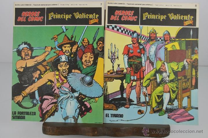 Cómics: 4138- EL PRINCIPE VALIENTE. HEROES DEL COMIC. EDIT. BURU LAN. PRIMERA AÑOS 70. - Foto 3 - 40902003