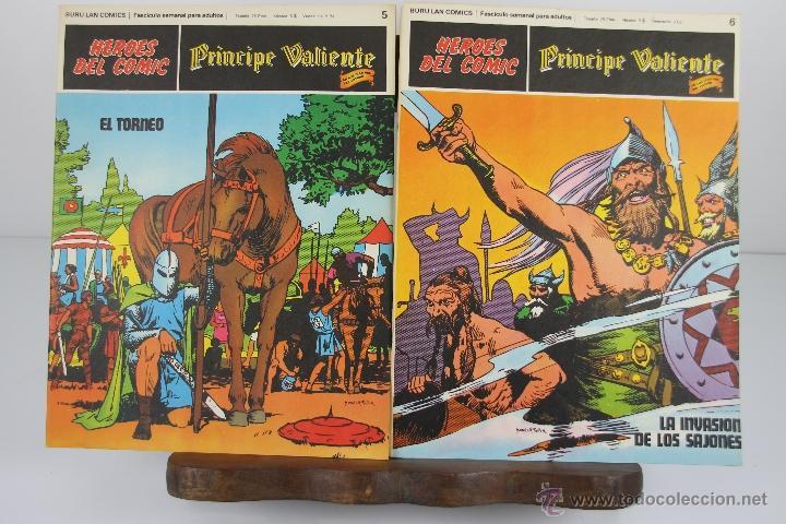 Cómics: 4138- EL PRINCIPE VALIENTE. HEROES DEL COMIC. EDIT. BURU LAN. PRIMERA AÑOS 70. - Foto 4 - 40902003