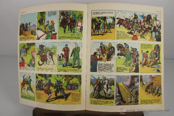 Cómics: 4138- EL PRINCIPE VALIENTE. HEROES DEL COMIC. EDIT. BURU LAN. PRIMERA AÑOS 70. - Foto 5 - 40902003