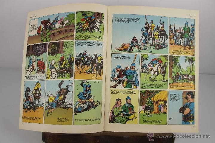 Cómics: 4138- EL PRINCIPE VALIENTE. HEROES DEL COMIC. EDIT. BURU LAN. PRIMERA AÑOS 70. - Foto 7 - 40902003