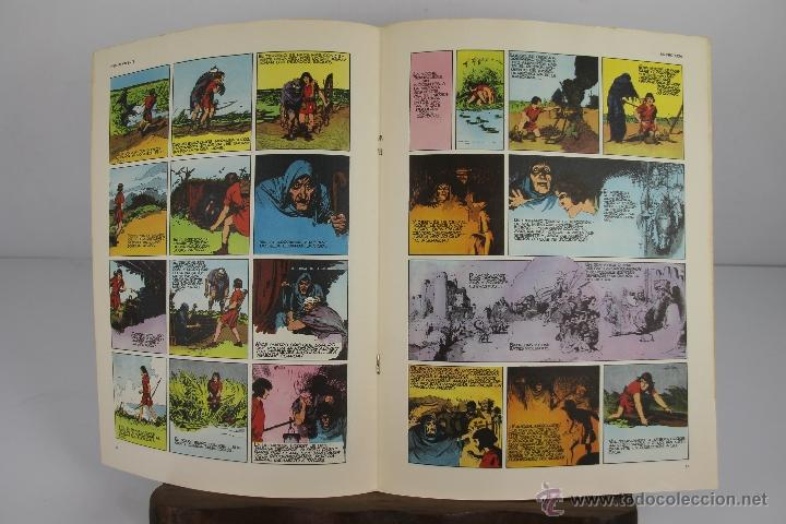 Cómics: 4138- EL PRINCIPE VALIENTE. HEROES DEL COMIC. EDIT. BURU LAN. PRIMERA AÑOS 70. - Foto 8 - 40902003