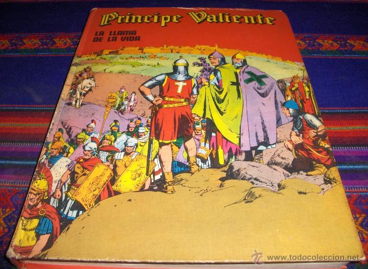 PRÍNCIPE VALIENTE TOMO Nº 4 LA LLAMA DE LA VIDA. BURU LAN 1973. (Tebeos y Comics - Buru-Lan - Principe Valiente)