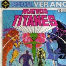 Cómics: NUEVOS TITANES ESPECIAL VERANO - CJ23. Lote 41140450