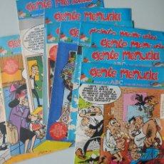 Cómics: LOTE 14 COMICS GENTE MENUDA (SEMANARIO JUVENIL ABC), EDITORIAL BRUGUERA. Lote 41204003
