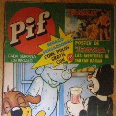 Cómics: PIF Nº 37 - EDITA TUC CON RAHAN - 1978 -. Lote 41204544