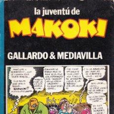 Cómics: LA JUVENTU DE MAKOKI. LAERTES COMIC. 1982.. Lote 41225979