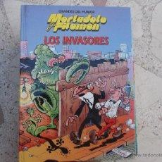 Cómics: GRANDES DEL HUMOR MORTADELO Y FILEMON Nº 17 ,LOS INVASORES ,EDICIONES PRIMERA PLANA -1996. Lote 41433997