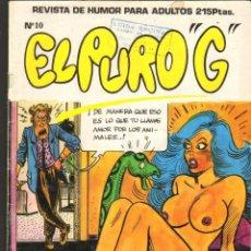 Cómics: TEBEOS-COMICS CANDY - EL PURO G - Nº 10 - ED. IRU - PARA ADULTOS *AA99. Lote 245471410