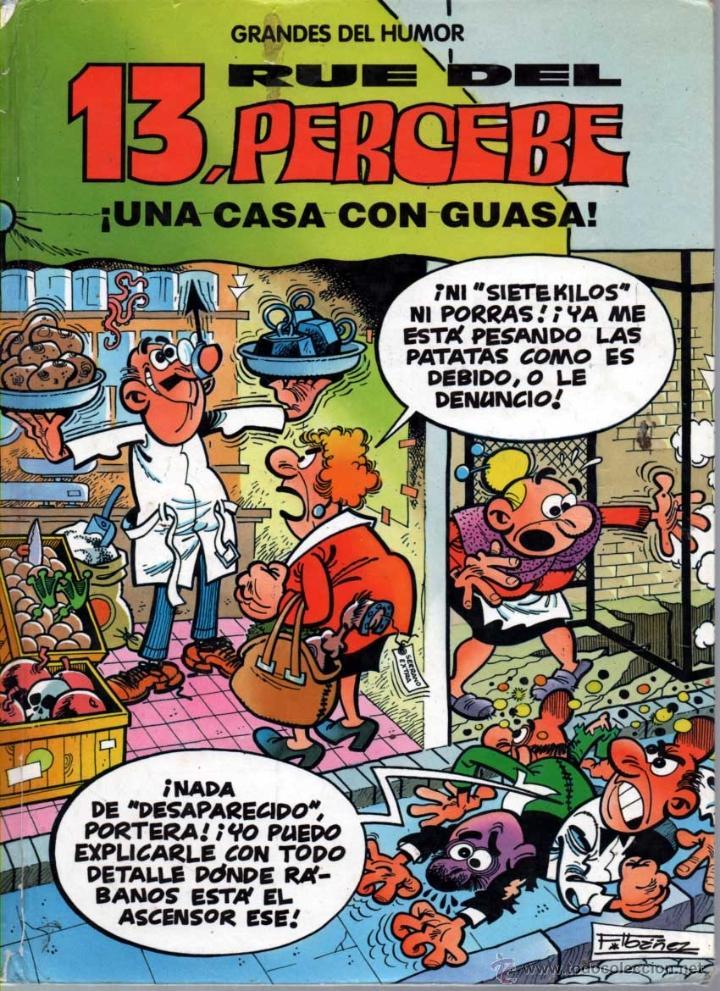 GRANDES DEL HUMOR. Nº 8 EL PERIODICO. 13 RUE DEL PERCEBE. UNA CASA CON GUASA (Tebeos y Comics Pendientes de Clasificar)