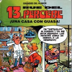 Cómics: GRANDES DEL HUMOR. Nº 8 EL PERIODICO. 13 RUE DEL PERCEBE. UNA CASA CON GUASA. Lote 133263002