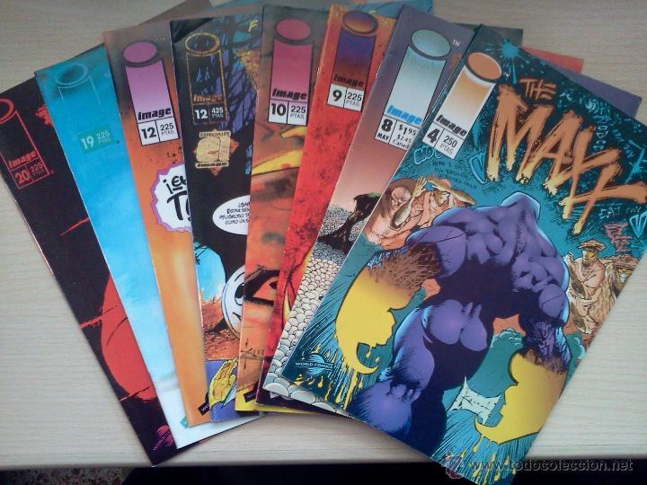 THE MAXX - Nº 4,9,10,12,19,20 + Nº8 (EN INGLÉS) + ESPECIAL FRIENDS (Tebeos y Comics - Comics Pequeños Lotes de Conjunto)