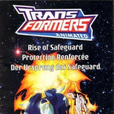 Cómics: TEBEOS-COMICS CANDY - TRANSFORMERS - EL NACIMIENTO DE SAFEGUARD - RARO TEBEO EN 6 IDIOMAS *UU99. Lote 41650607