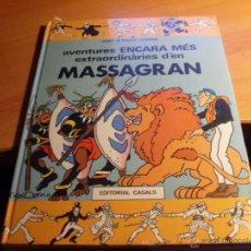 Cómics: AVENTURES ENCARA MES EXTRAORDINARIES D'EN MASSAGRAN (FOLCH I TORRES) PRECINTADO. EN CATALAN (CLA4). Lote 41678281