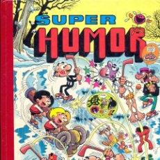 Cómics: SUPER HUMOR Nº 38 MORTADELO Y FILEMÓN, ZIPI-ZAPE, CARPANTA, ROMPETECHOS, Y SACARINO / 2ª EDICIÓN. Lote 41778804