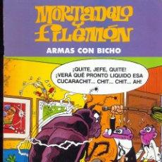 Cómics: MORTADELO Y FILEMÓN - ARMAS CON BICHO - EDICIÓN ESPECIAL. Lote 41778904