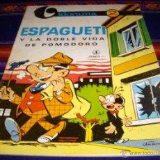 Cómics: VIDORAMA Nº 2 ESPAGUETI Y LA DOBLE VIDA DE POMODORO. JAIMES LIBROS 1968. RÚSTICA. MBE. DIFÍCIL!!!. Lote 41801918