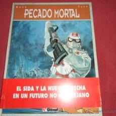 Cómics: PECADO MORTAL - BEHE/TOFF - GLENAT, TAPAS DURAS Y GRAN FORMATO - 1ª EDICION 1993. Lote 42012154