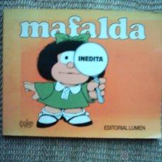 Cómics: JOAQUÍN SALVADOR LAVADO (QUINO). MAFALDA INÉDITA. 1988. EDITORIAL LUMEN. Lote 42140374