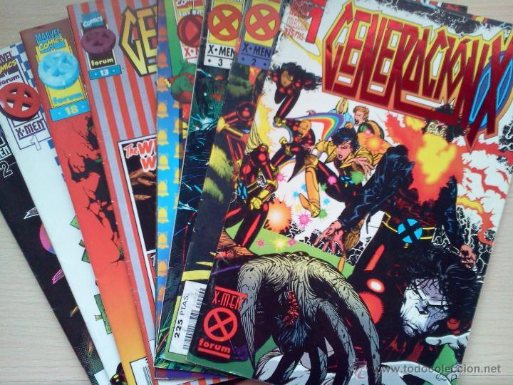 LOTE GENERACIÓN X (Tebeos y Comics - Comics Pequeños Lotes de Conjunto)