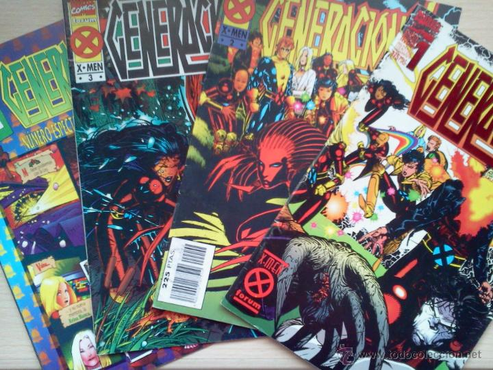 Cómics: LOTE GENERACIÓN X - Foto 3 - 42192649