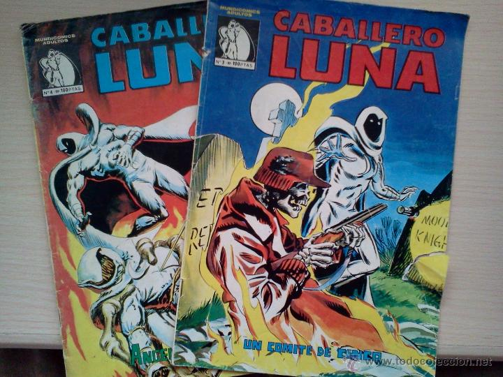 Cómics: LOTE CABALLERO LUNA - Foto 2 - 42192811