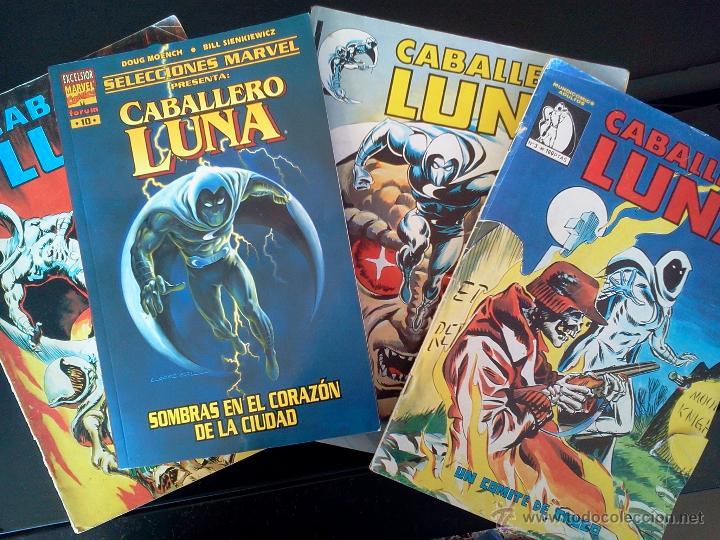 LOTE CABALLERO LUNA (Tebeos y Comics - Comics Pequeños Lotes de Conjunto)