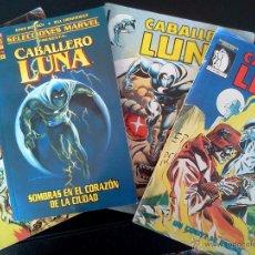 Cómics: LOTE CABALLERO LUNA. Lote 42192811