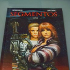 Cómics: SEGMENTOS 1. LEXIPOLIS - RICARDO MALKA / JUAN GIMENEZ.. Lote 90434428
