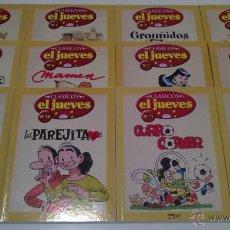 Fumetti: CLASICOS EL JUEVES COMPLETA 12 NºS. Lote 42496279