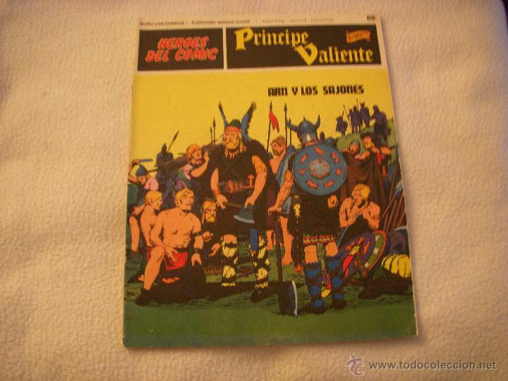 HEROES DEL COMIC, PRINCIPE VALIENTE Nº 69, EDITORIAL BURULAN (Tebeos y Comics - Buru-Lan - Principe Valiente)