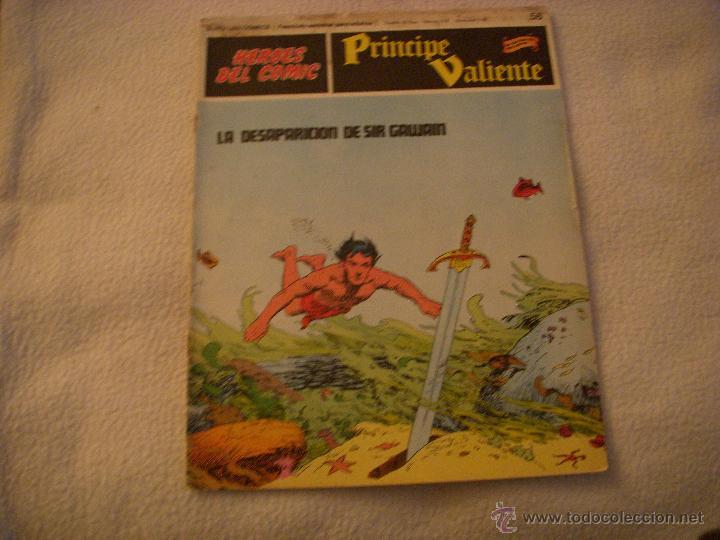 HEROES DEL COMIC, PRINCIPE VALIENTE Nº 56, EDITORIAL BURULAN (Tebeos y Comics - Buru-Lan - Principe Valiente)