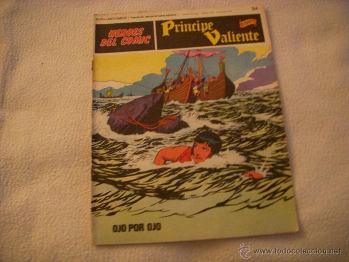 HEROES DEL COMIC, PRINCIPE VALIENTE Nº 54, EDITORIAL BURULAN (Tebeos y Comics - Buru-Lan - Principe Valiente)