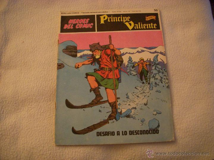 HEROES DEL COMIC, PRINCIPE VALIENTE Nº 50, EDITORIAL BURULAN (Tebeos y Comics - Buru-Lan - Principe Valiente)
