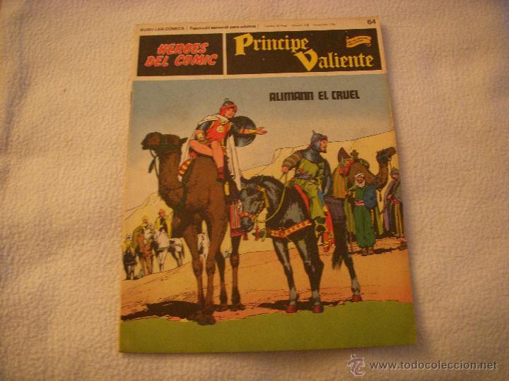 HEROES DEL COMIC, PRINCIPE VALIENTE Nº 64, EDITORIAL BURULAN (Tebeos y Comics - Buru-Lan - Principe Valiente)