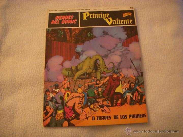 HEROES DEL COMIC, PRINCIPE VALIENTE Nº 65, EDITORIAL BURULAN (Tebeos y Comics - Buru-Lan - Principe Valiente)