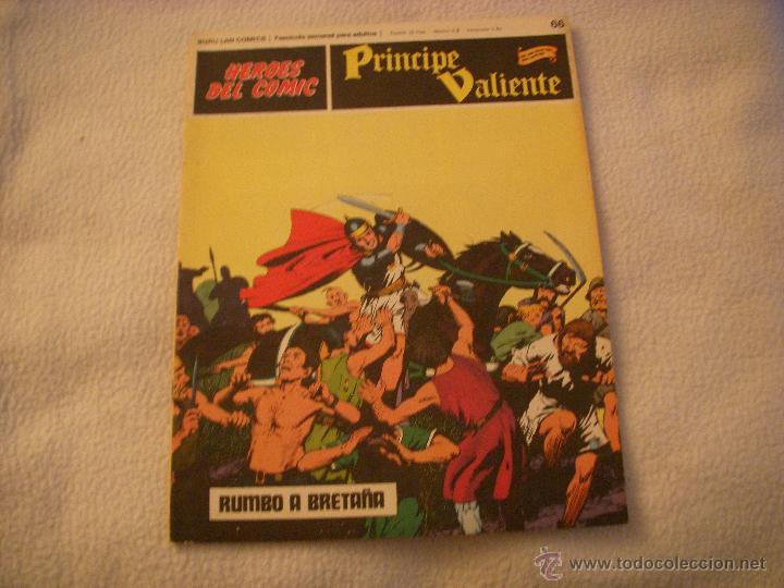 HEROES DEL COMIC, PRINCIPE VALIENTE Nº 66, EDITORIAL BURULAN (Tebeos y Comics - Buru-Lan - Principe Valiente)