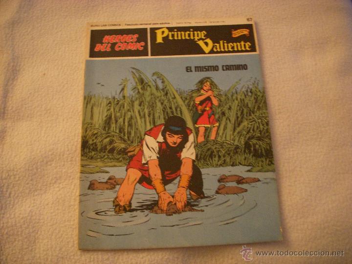 HEROES DEL COMIC, PRINCIPE VALIENTE Nº 67, EDITORIAL BURULAN (Tebeos y Comics - Buru-Lan - Principe Valiente)