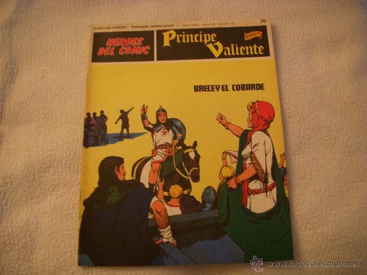 HEROES DEL COMIC, PRINCIPE VALIENTE Nº 70, EDITORIAL BURULAN (Tebeos y Comics - Buru-Lan - Principe Valiente)