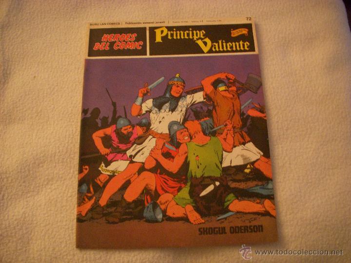 HEROES DEL COMIC, PRINCIPE VALIENTE Nº 72, EDITORIAL BURULAN (Tebeos y Comics - Buru-Lan - Principe Valiente)