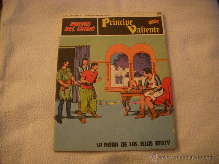 HEROES DEL COMIC, PRINCIPE VALIENTE Nº 85, EDITORIAL BURULAN (Tebeos y Comics - Buru-Lan - Principe Valiente)