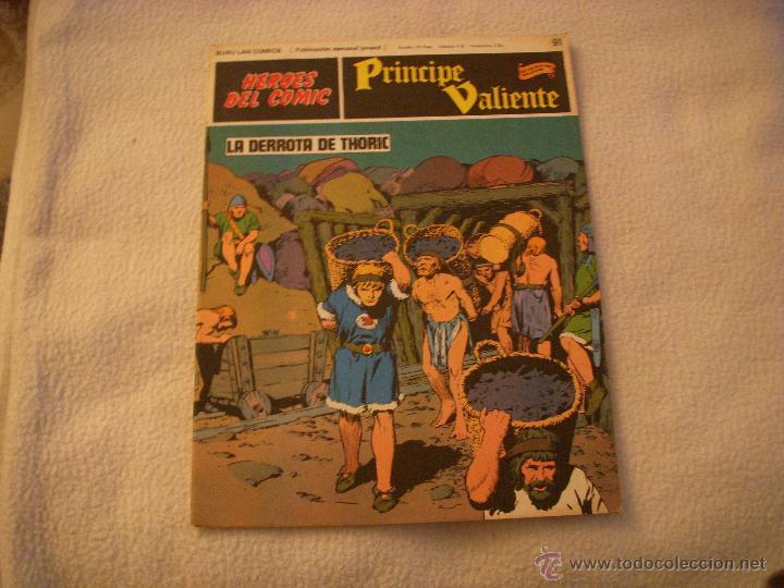 HEROES DEL COMIC, PRINCIPE VALIENTE Nº 91, EDITORIAL BURULAN (Tebeos y Comics - Buru-Lan - Principe Valiente)