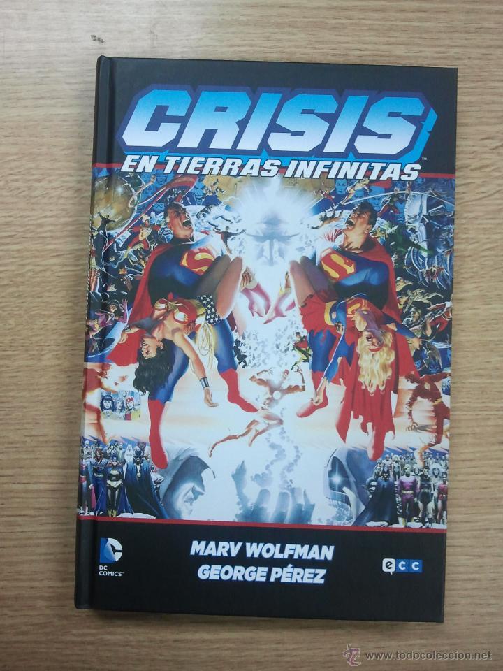 CRISIS EN TIERRAS INFINITAS (ECC EDICIONES) (Tebeos y Comics - Comics otras Editoriales Actuales)