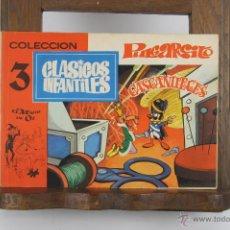 Cómics: D-347. COLECCION CLASICOS INFANTILES. 3 TEBEOS, EDIT. PLAN AÑOS 70. . Lote 42767091